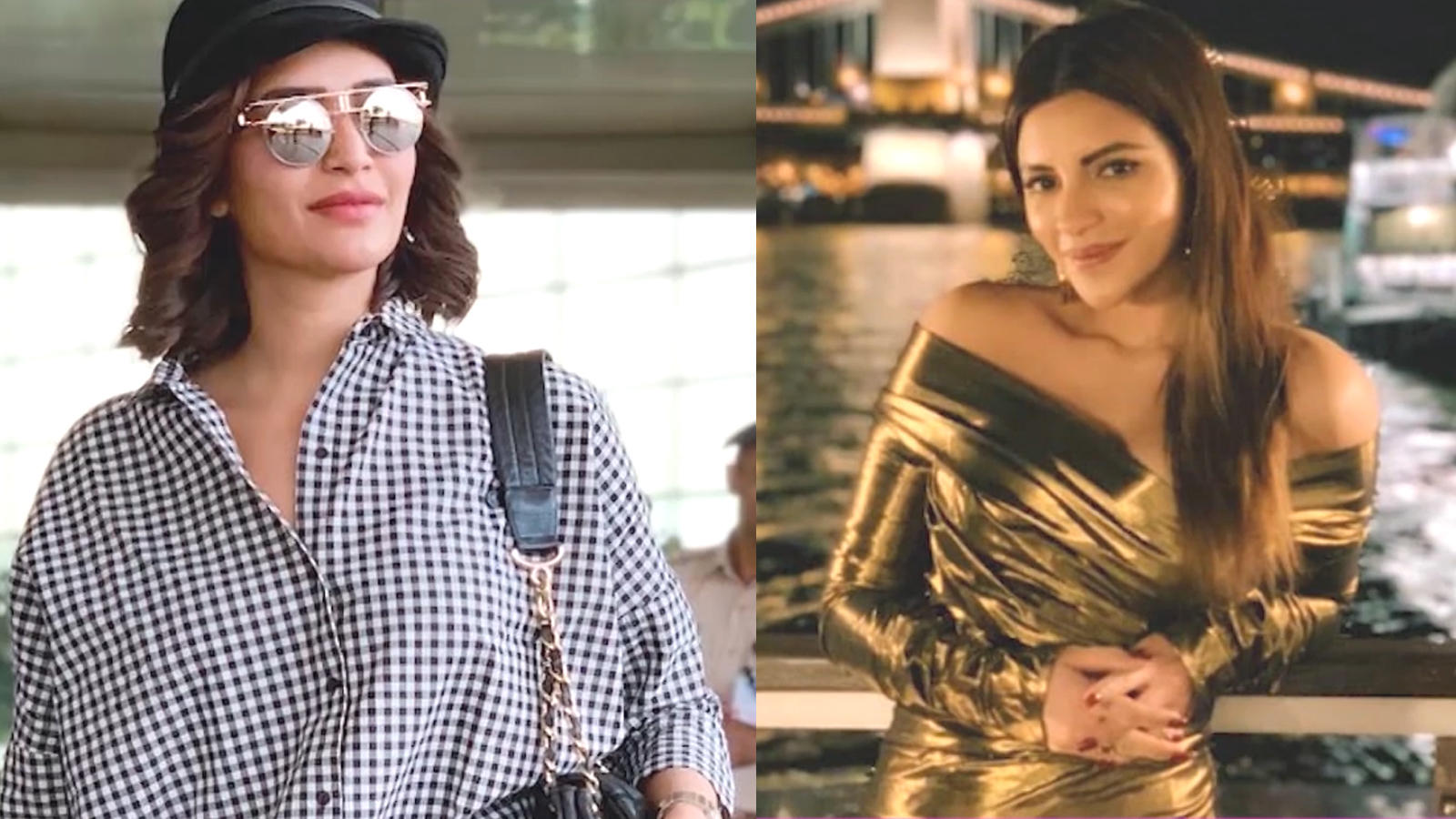 Karishma Tanna and Shama Sikander's glamorous look