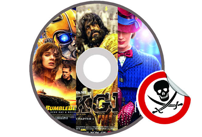Pirated DVDs of big-budget films release in Kotla Mubarakpur