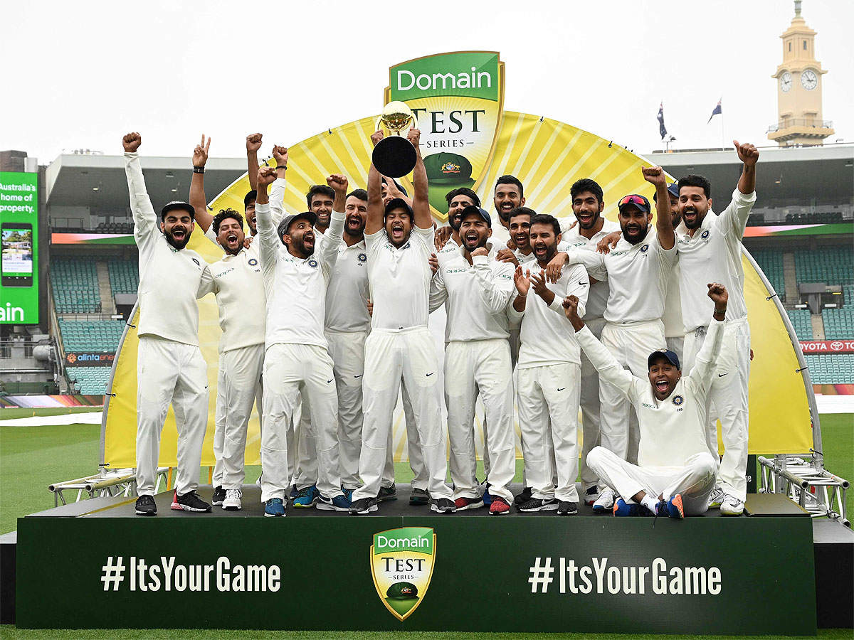 India Vs Australia India Make History Win First Ever Cricket Test Series In Australia Cricket News Times Of India