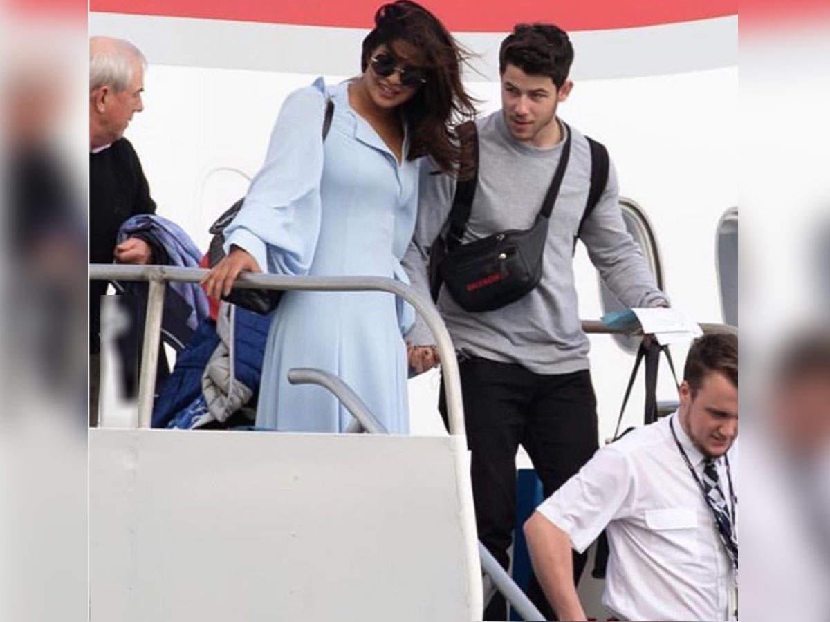 Priyanka Chopra and Nick Jonas fly to the Caribbean for their honeymoon