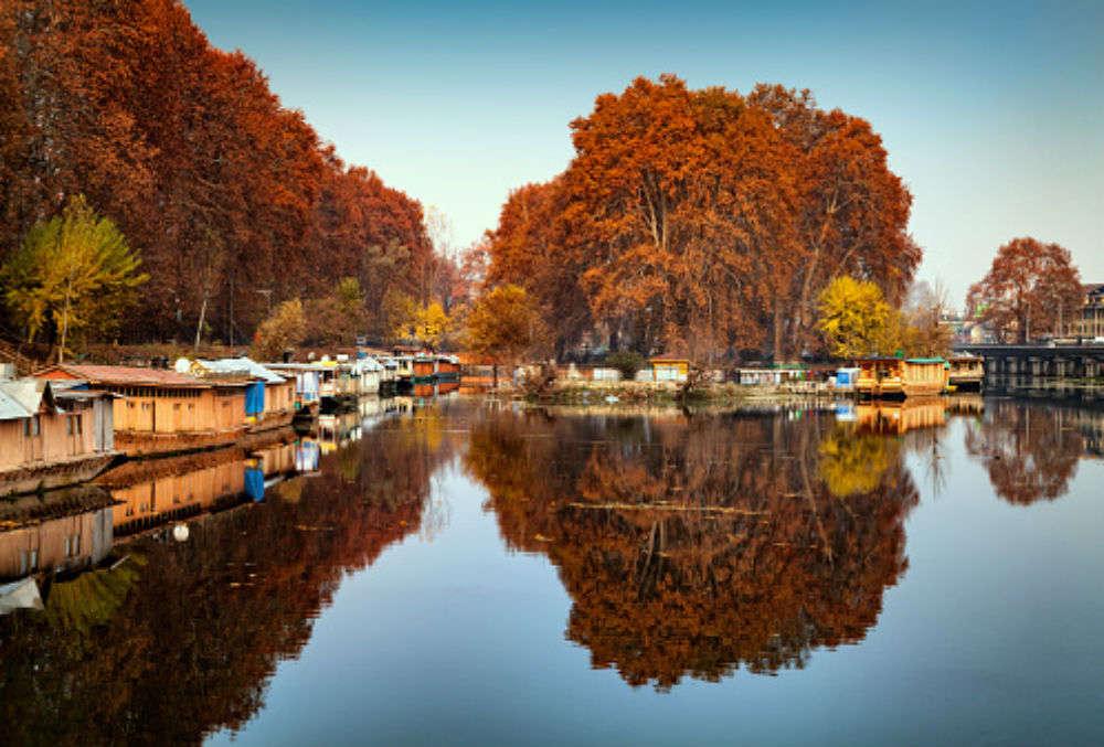 Waking up at Nigeen Lake, Kashmir
