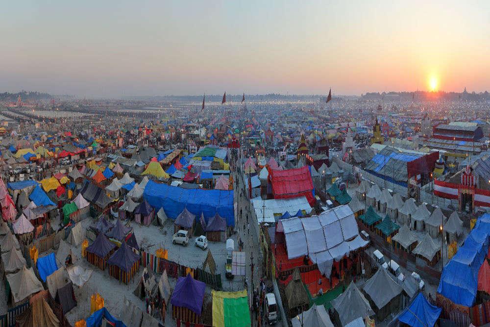 Ardh Kumbh Mela 2019: where to stay in Allahabad?