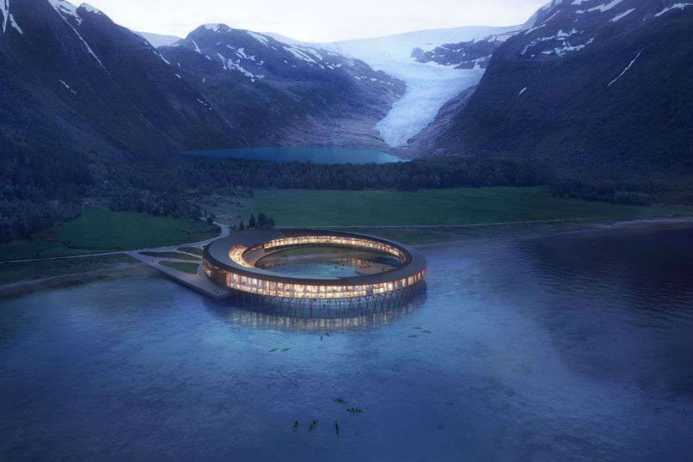 This hotel in the Arctic generates more energy than it consumes