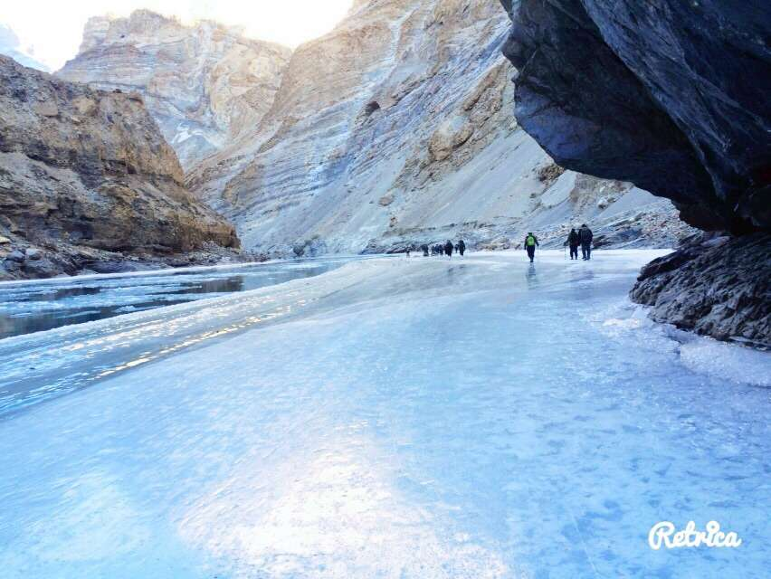 Chadar trek will not be everyone's cup of tea now. Get insurance to make it happen