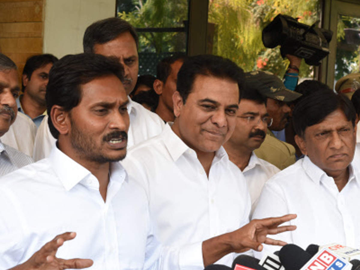 The 'kiss and make-up' tale of TRS and Jagan | Hyderabad