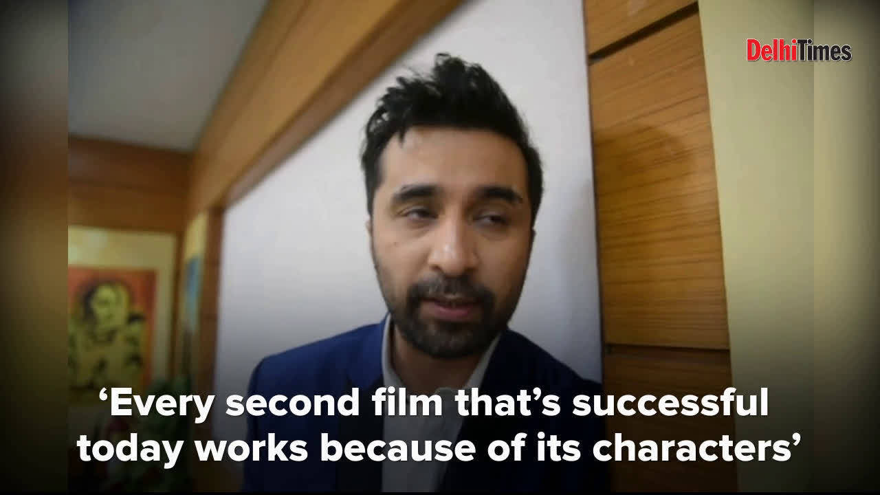 Siddhanth Kapoor tells us why he is happy to play character roles in films