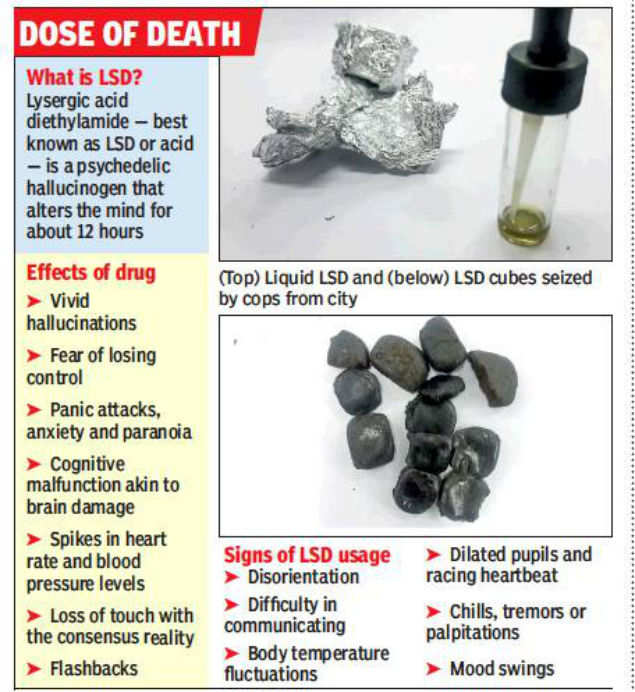 Not a transit point, Kolkata now an LSD market: Cops | Kolkata News
