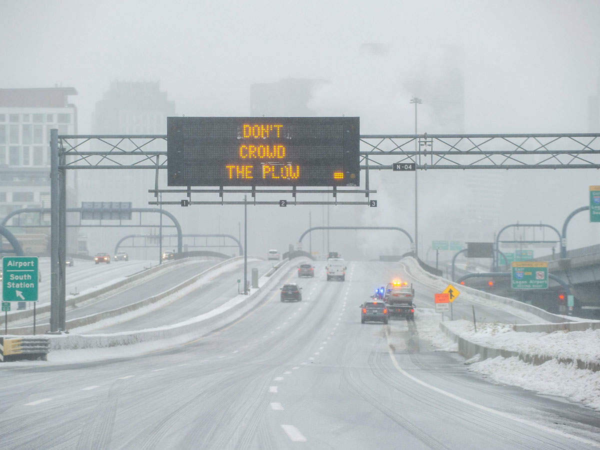 Major winter storm in the United States causes havoc on the journey