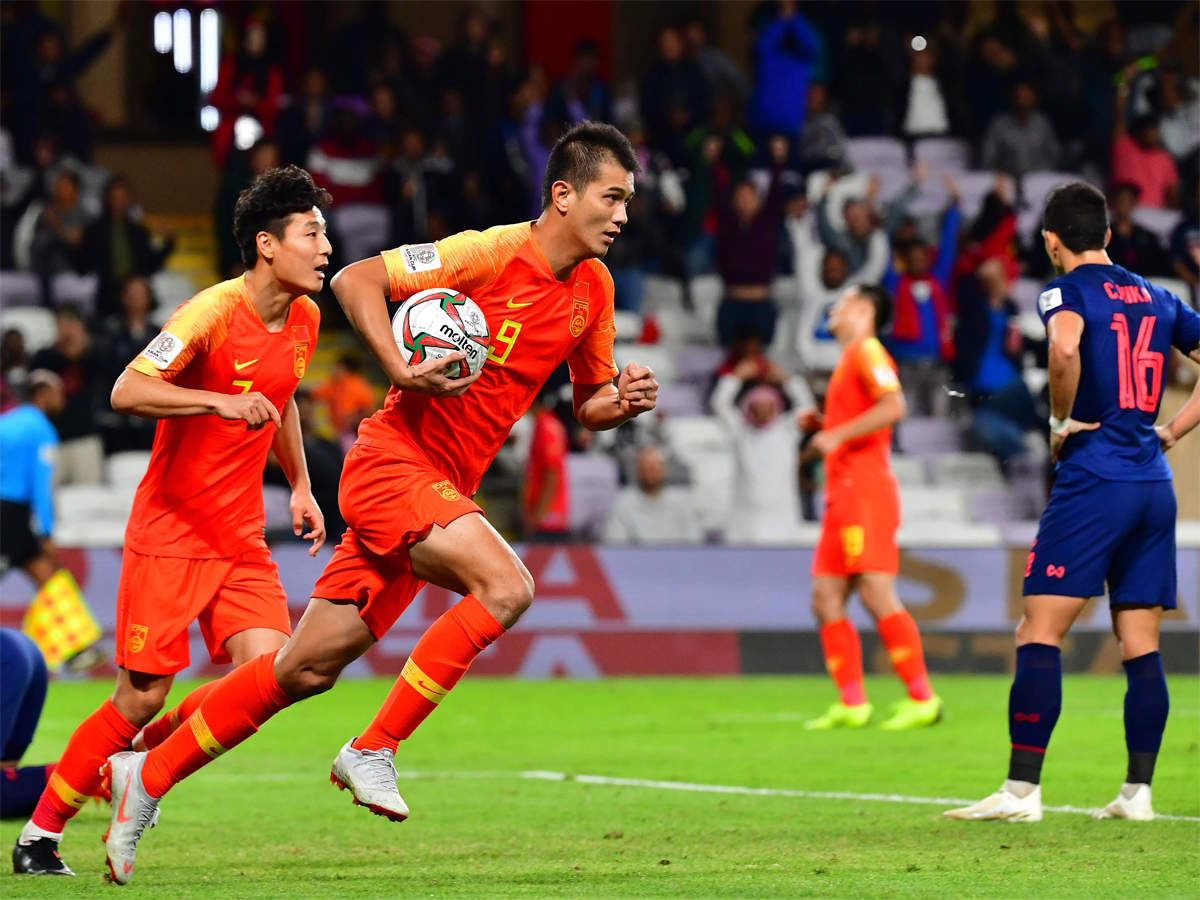 Asian Cup China roars from behind to reach the quarter finals