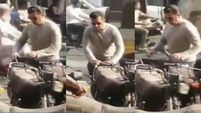 Salman Khan lookalike snapped in Pakistan's Karachi market