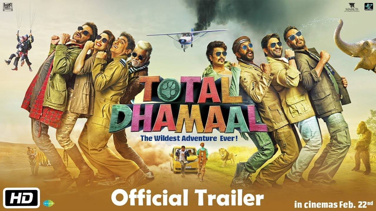 'Total Dhamaal' trailer: Anil Kapoor, Ajay Devgn and Madhuri Dixit add to  the original Dhamaal band and cook up a wild comic-caper
