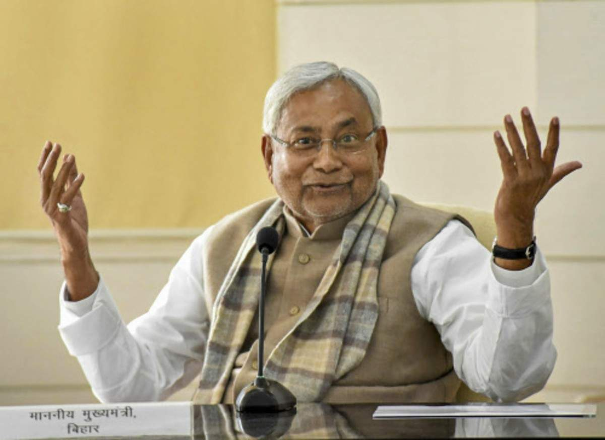Legal opinion is requested for the quota for the higher cabinets in Bihar Nitish