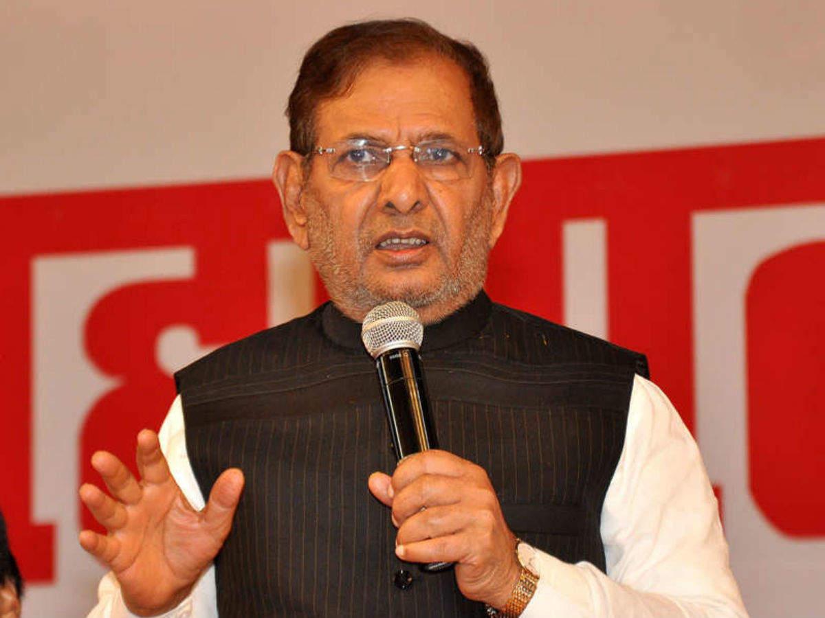 Sharav Yadav makes a mistake at Mamatas rally BJP takes a dig