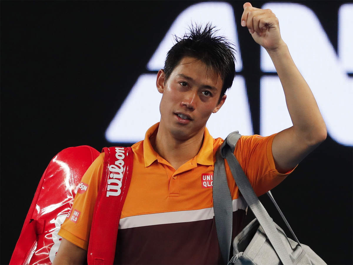 Australian Open flight artist Nishikori defeats Carreno Busta to reach quarters