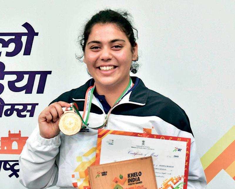 MP-girl Anusha wins TT title at Khelo India c  ship