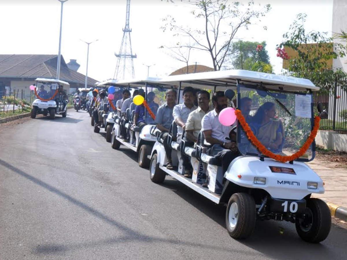 Mangaluru Pilikula Nisargadhama turns greener with battery-operated cars