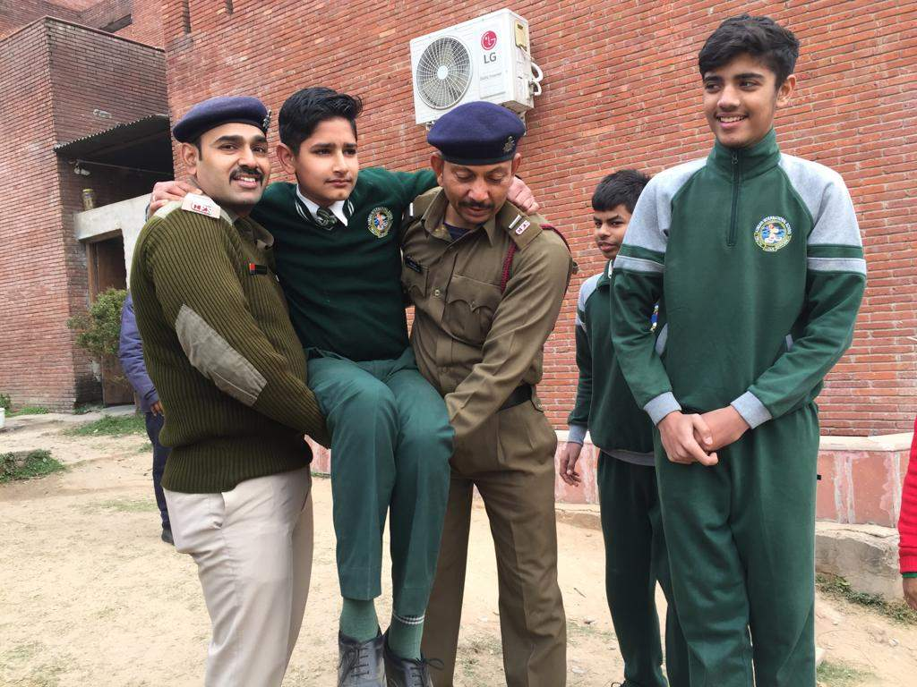 Mock fire safety drill conducted in school | Chandigarh News