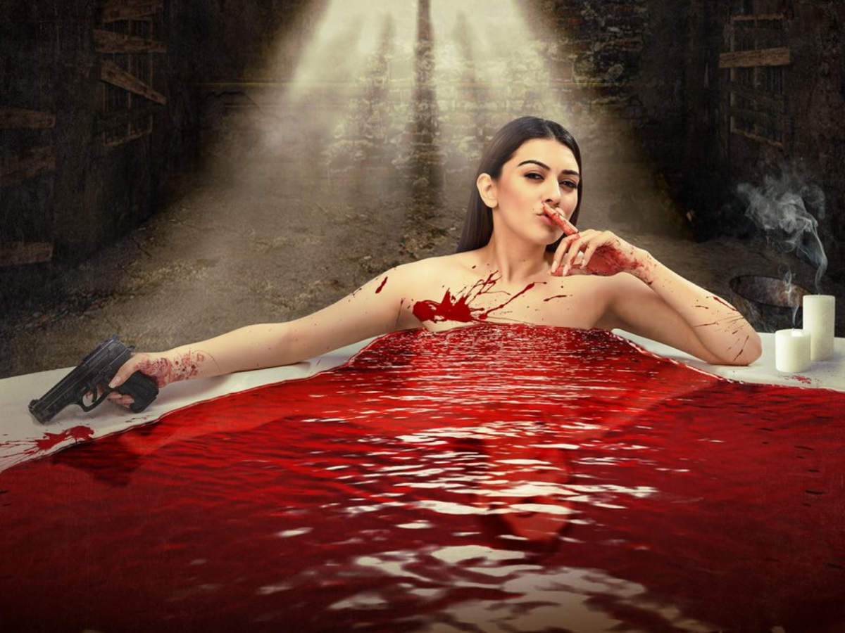 Image result for Hansika injured during making of Action scene for Maha