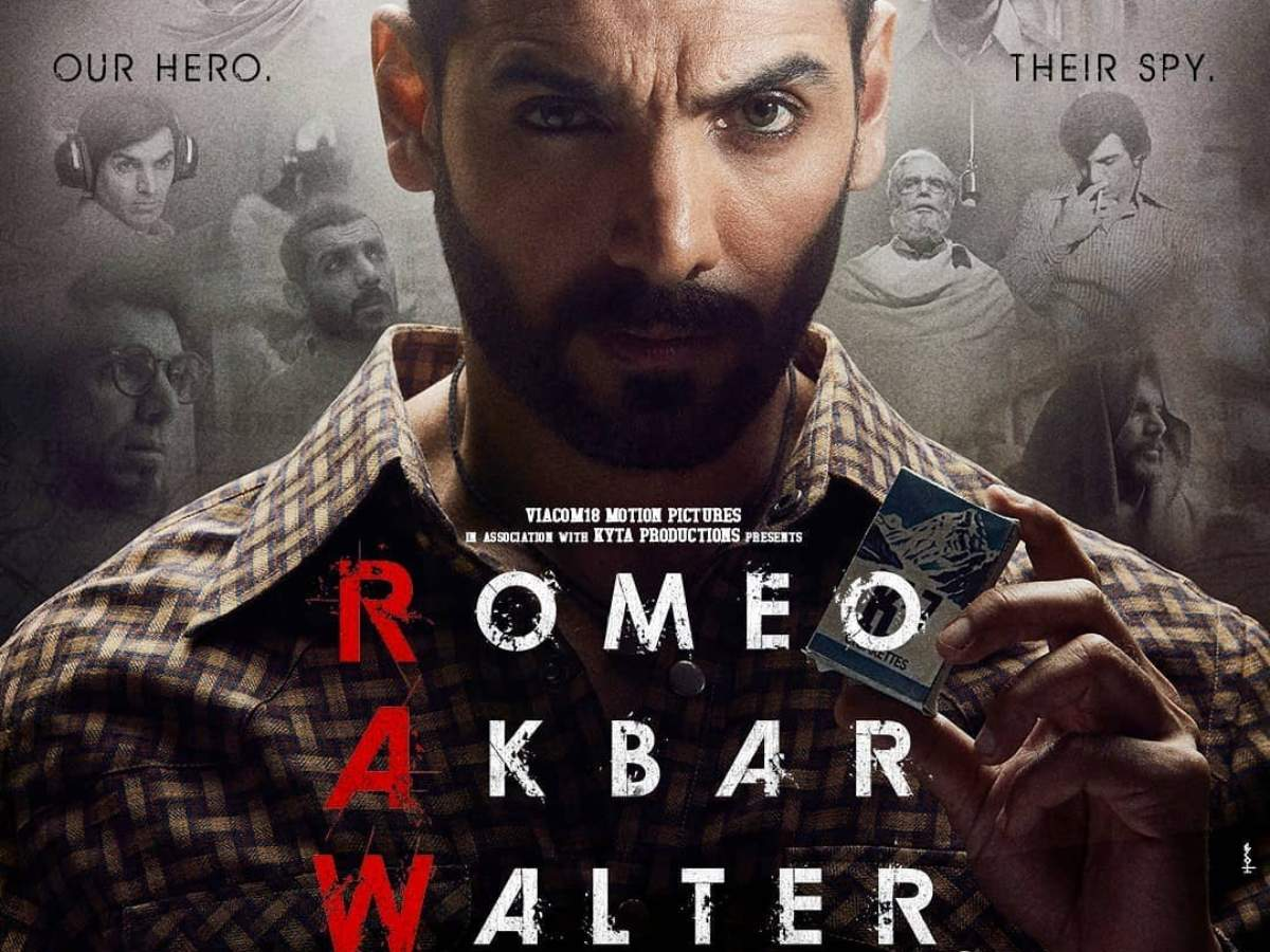 New poster of John Abraham's 'Romeo Akbar Walter' (RAW) is out