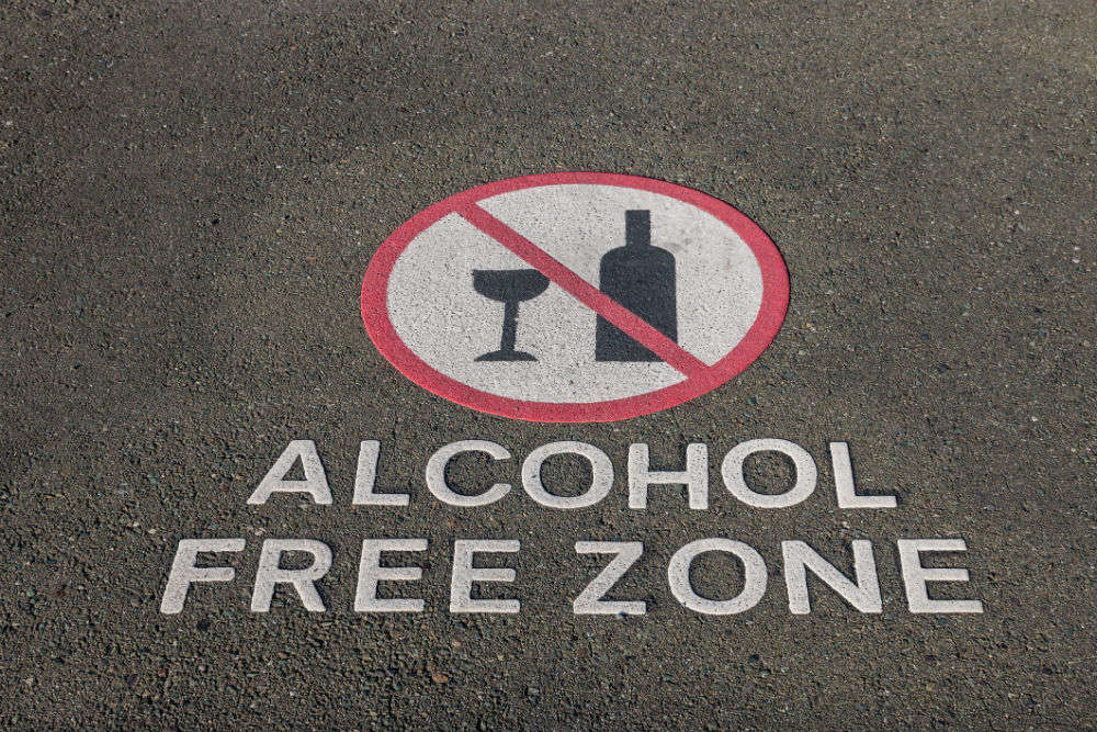 Imprisonment, fine of INR 2,000 if caught drinking or cooking in public in Goa
