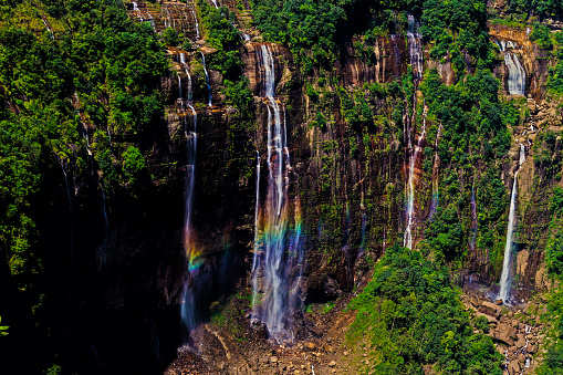 Do you know about the stunning 7 Sisters Waterfalls of Northeast India?