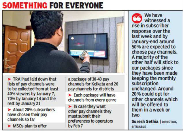 Truncated cable package will act as wake-up call for subscribers