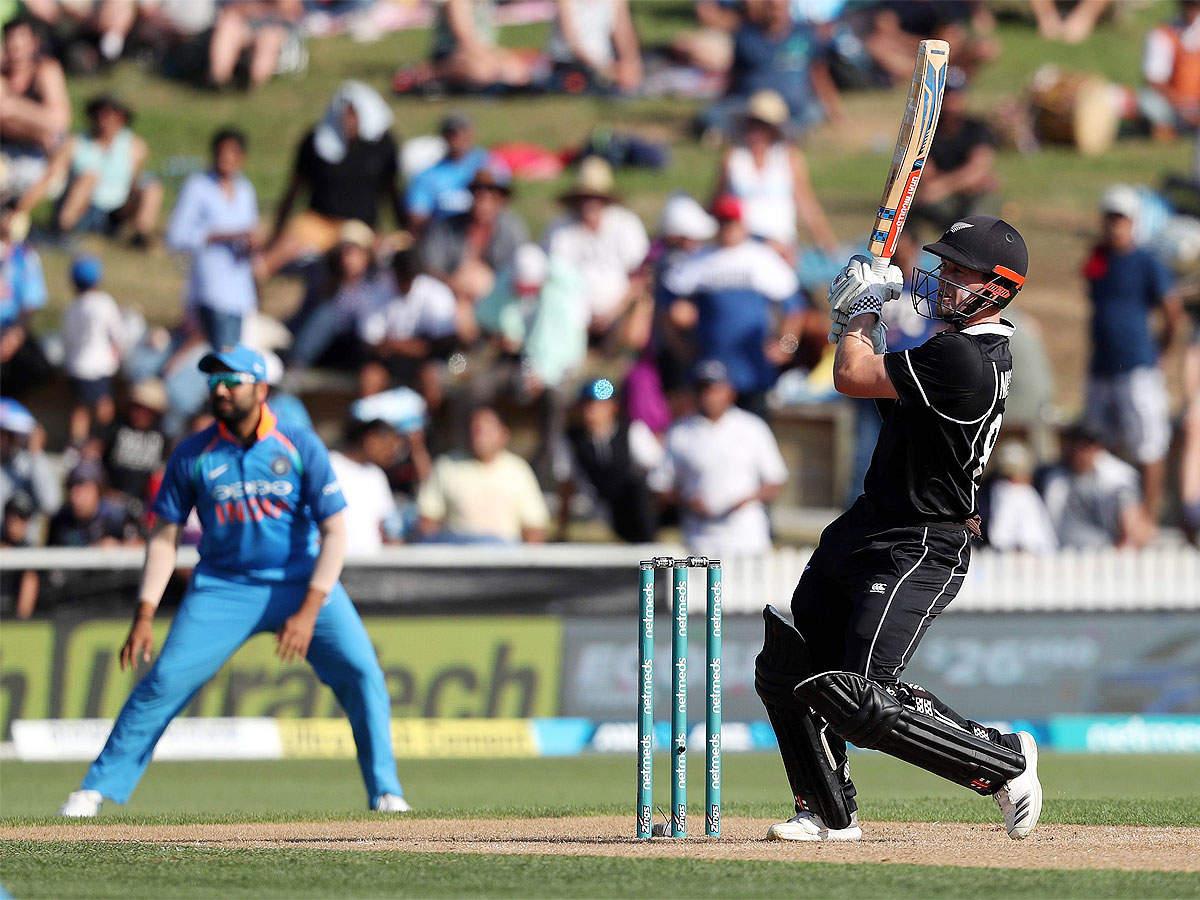 India vs New Zealand, 4th ODI: India crash to 8-wicket defeat