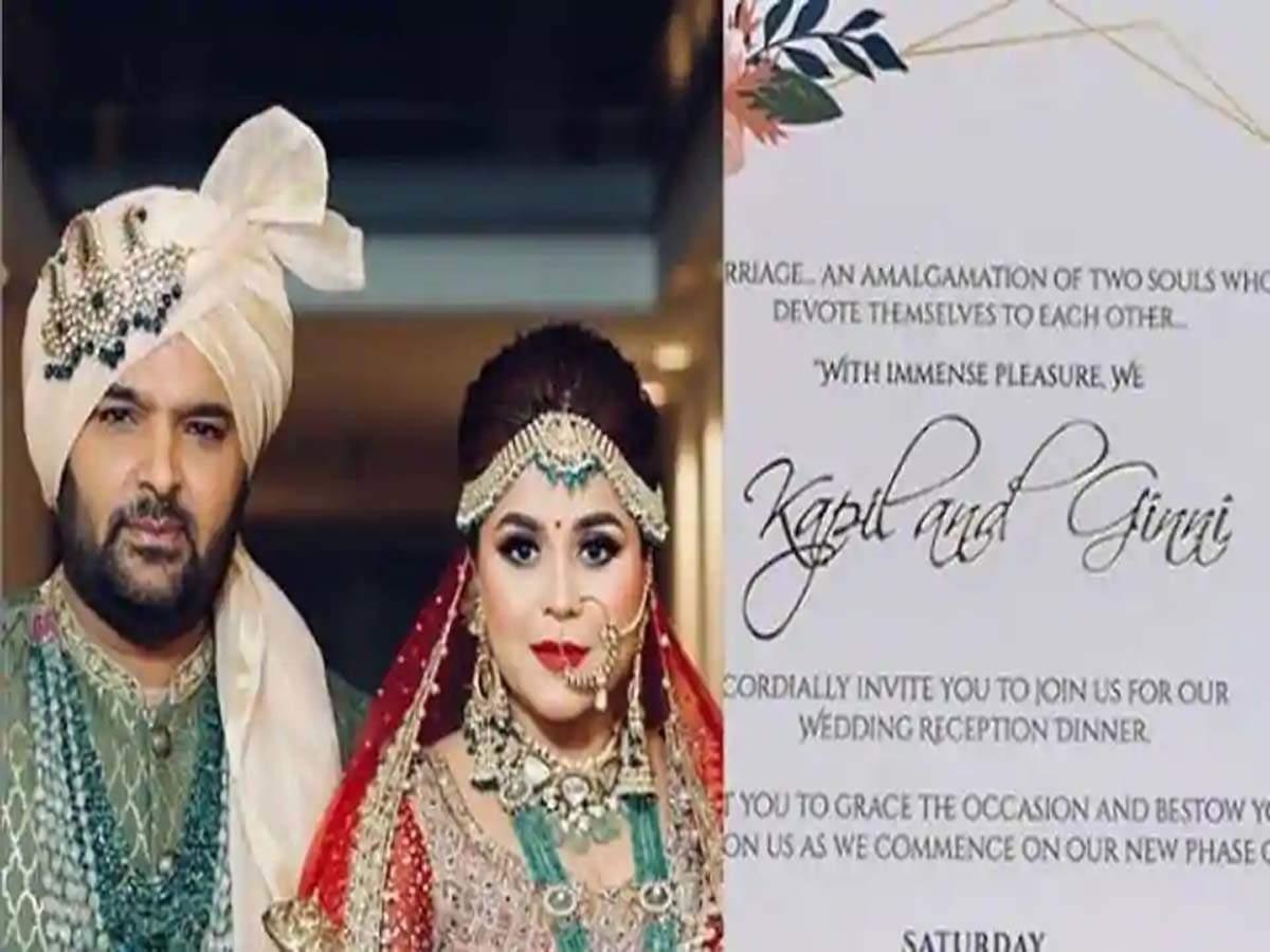 Here S Kapil Sharma And Ginni Chatrath S Delhi Wedding