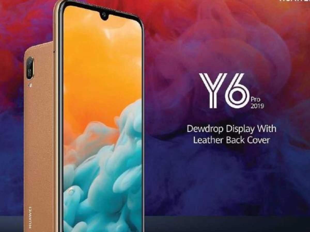 Huawei Y Series: Huawei Y6 Pro (2019), Huawei Y7 (2019) and