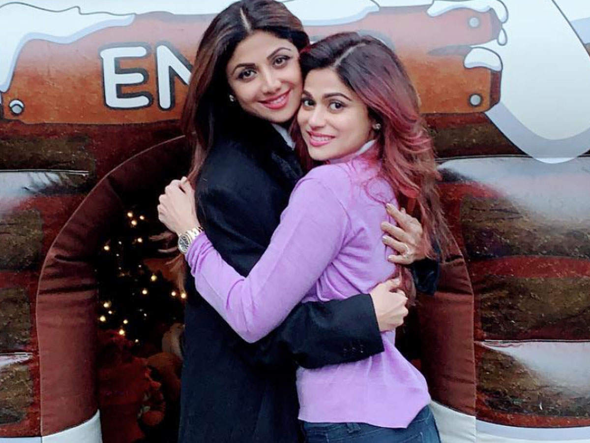 Watch: Shilpa Shetty shares an endearing post for sister Shamita Shetty on  her birthday | Hindi Movie News - Times of India