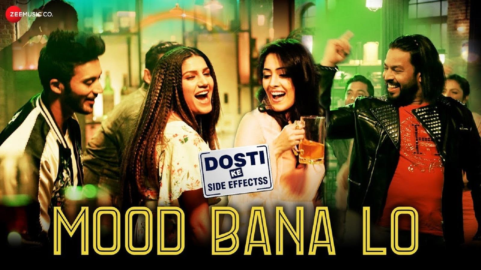 Sapna Choudhary's latest Hindi song 'Mood Bana Lo' from movie 'Dosti Ke  Side Effectss'
