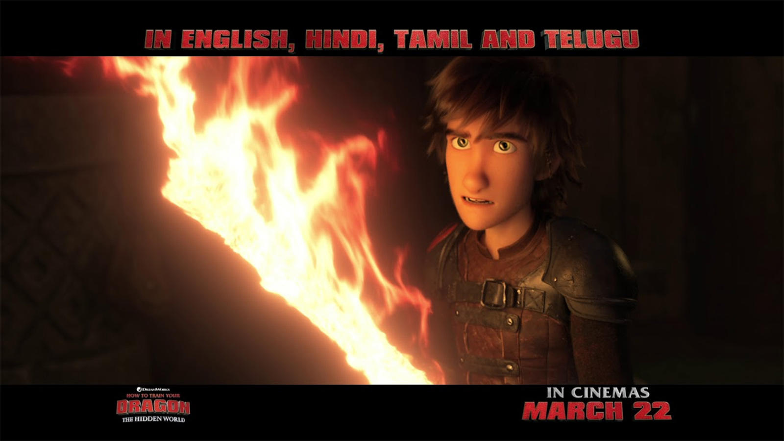 How To Train Your Dragon: The Hidden World - Official Tamil Trailer