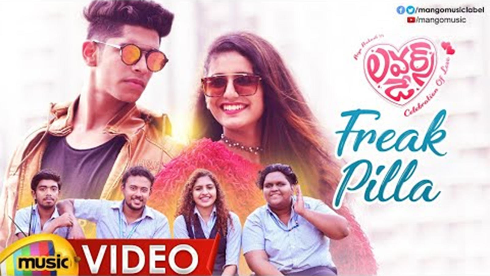 Lovers Day Song Freak Pilla Telugu Video Songs Times Of India