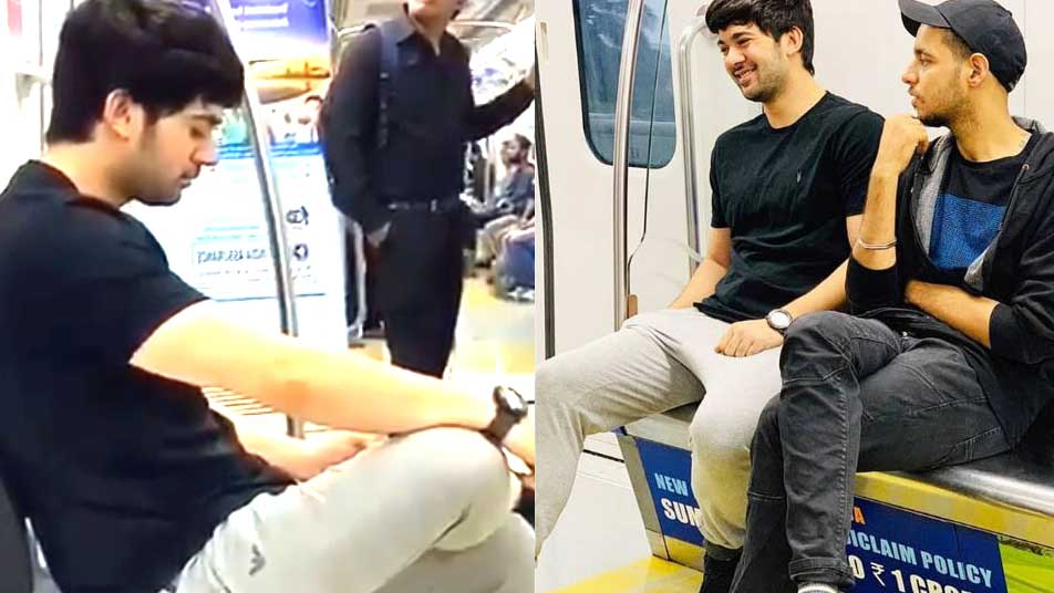Sunny Deol's son Karan Deol enjoys metro ride with friend