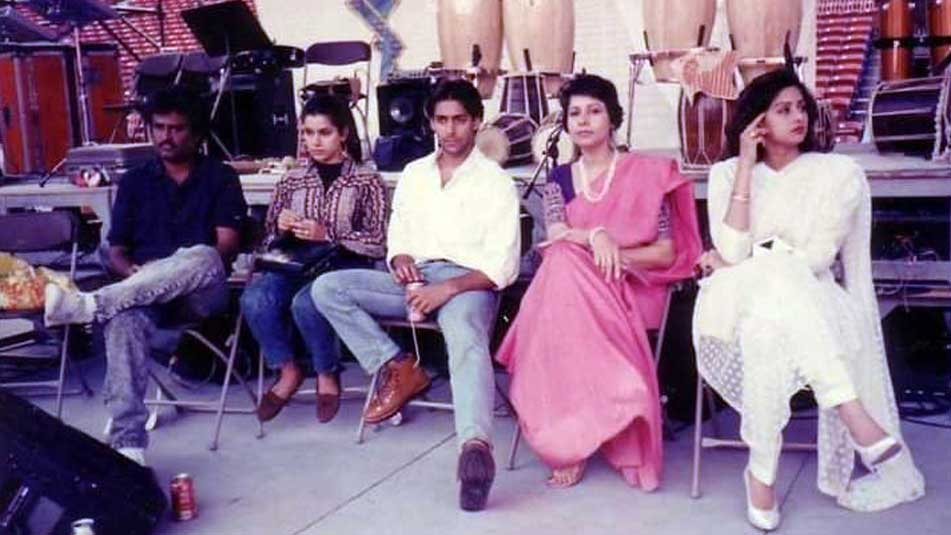 This unseen picture of Sridevi with Rajinikanth, Salman Khan is priceless!
