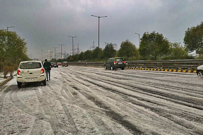 Are there more weather surprises in store for Delhi NCR today?