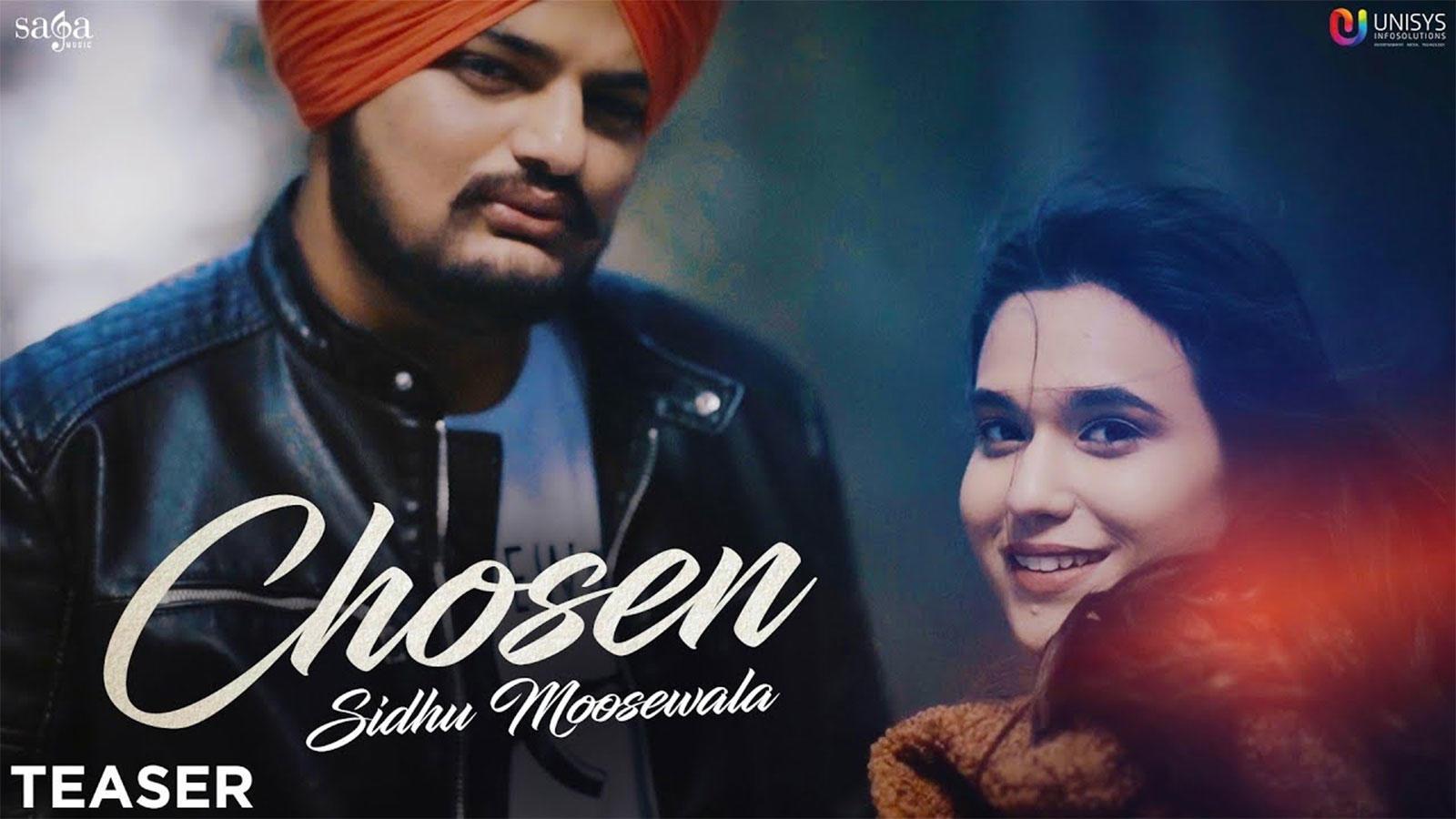 Latest Punjabi Song Chosen Sung By Sidhu Moosewala Ft  Sunny Malton (Teaser)