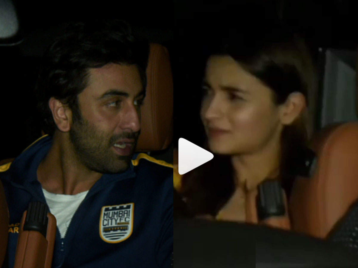 Watch: Did Ranbir Kapoor Have A Tiff With Alia Bhatt? | Hindi Movie News