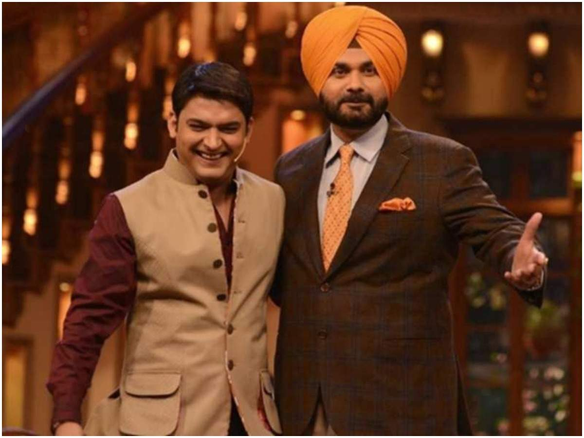 Navjot Singh Sidhu to be sacked from The Kapil Sharma Show following his comments on Pulwama attack - Times of India