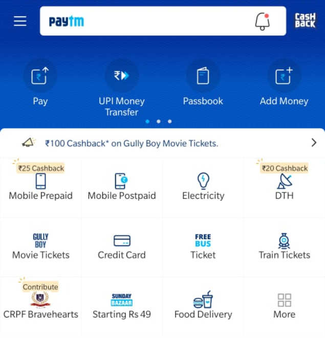 PayTm collaborates with CRPF wives association to collect donations
