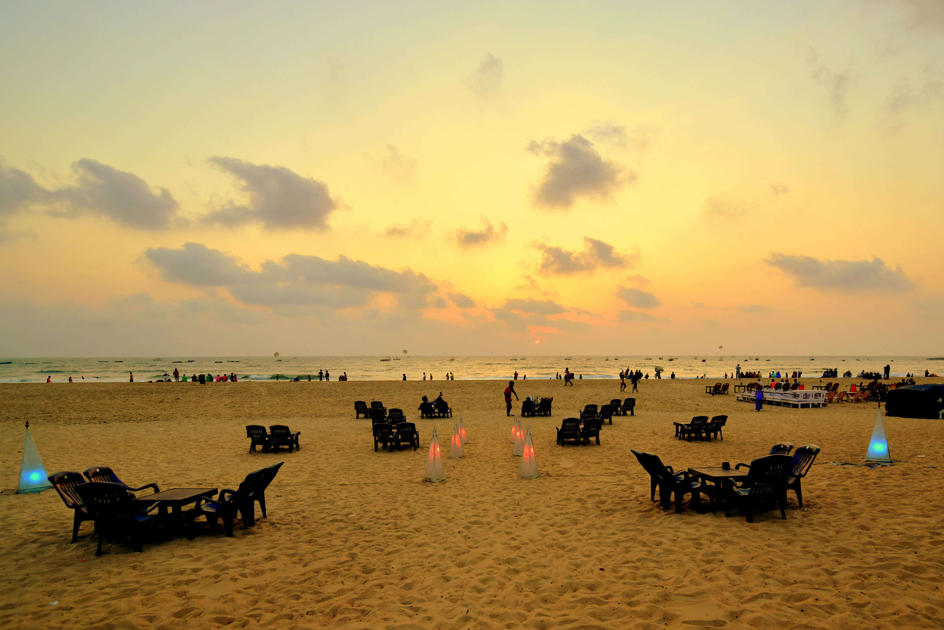 Baga Beach banner takes on Google Maps for wrong direction