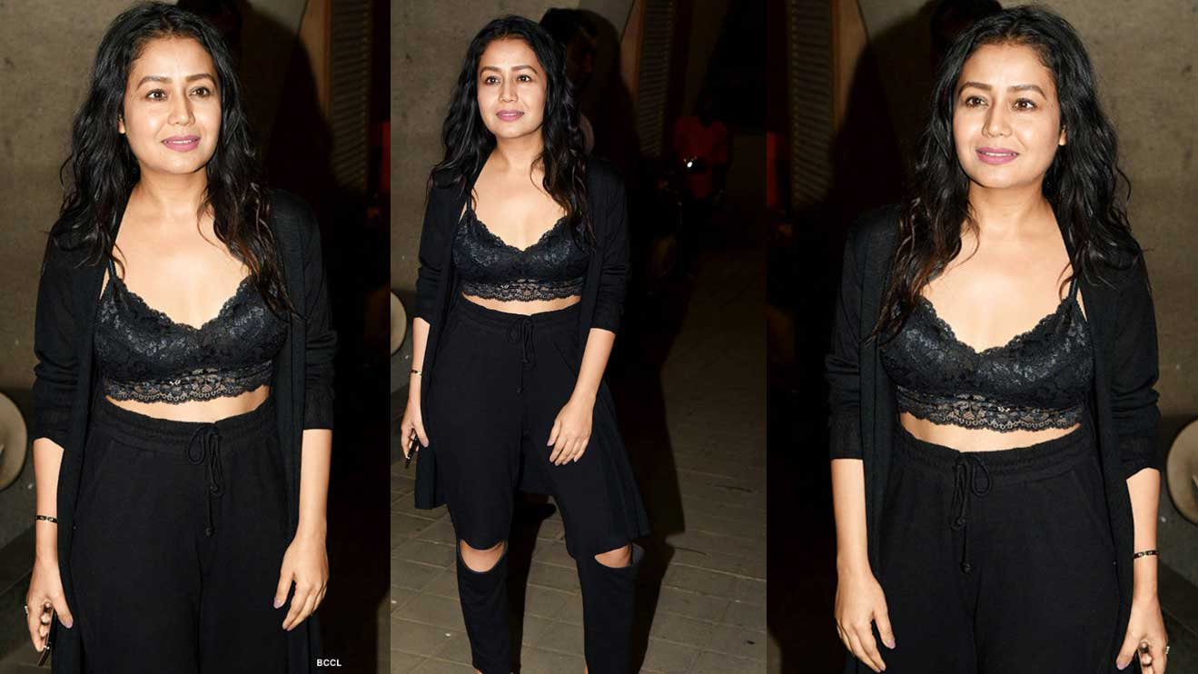 Neha Kakkar Gets Trolled For Her Dress