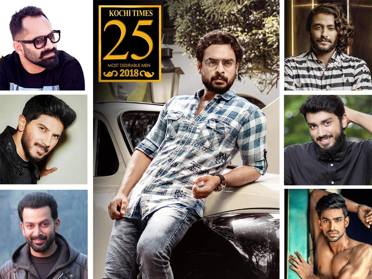 Kochi Times 25 Most Desirable Men of 2018 | Malayalam Movie News