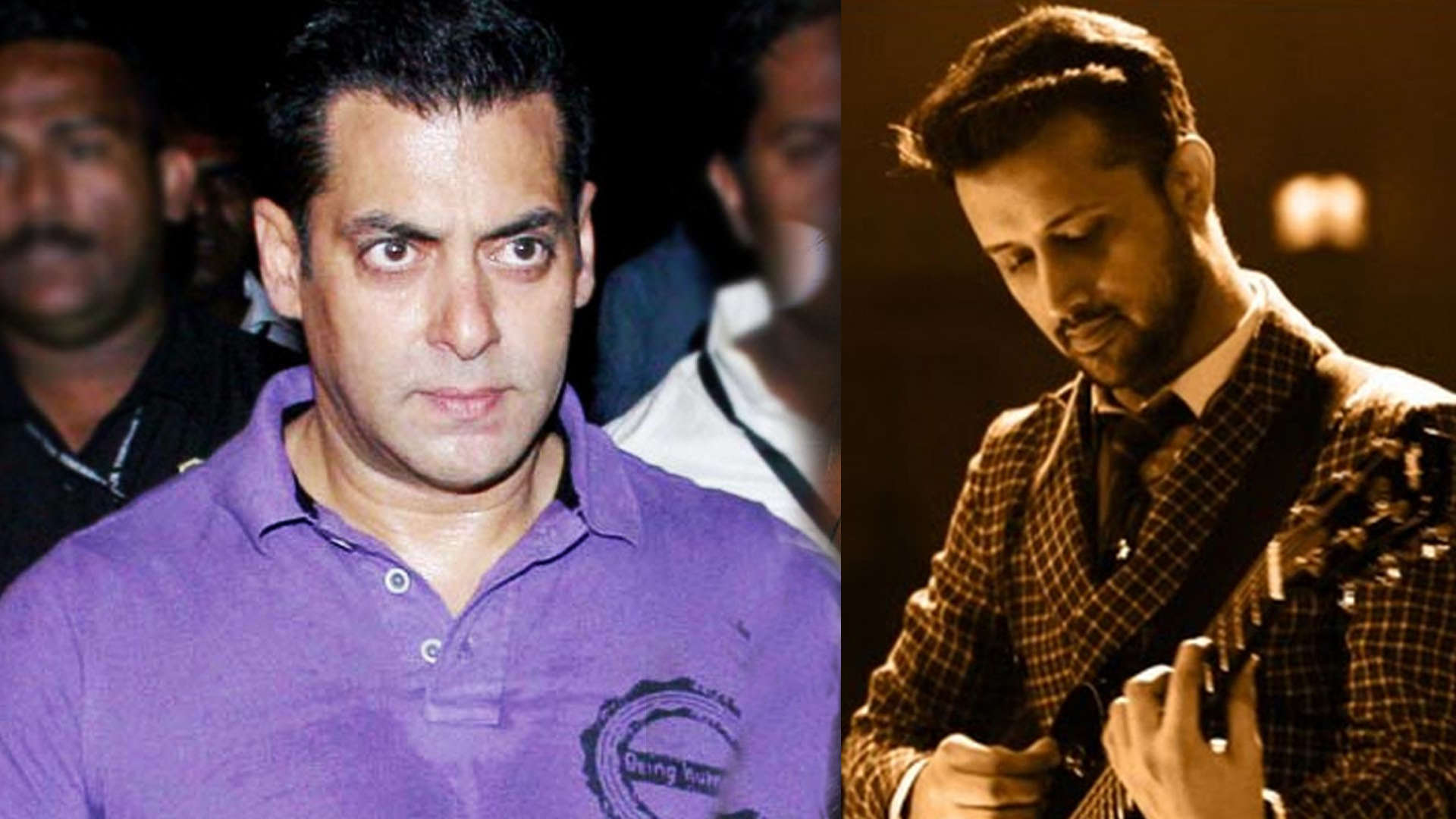 Pulwama terror attack: Salman Khan to replace singer Atif Aslam's song from  his upcoming film 'Notebook'?