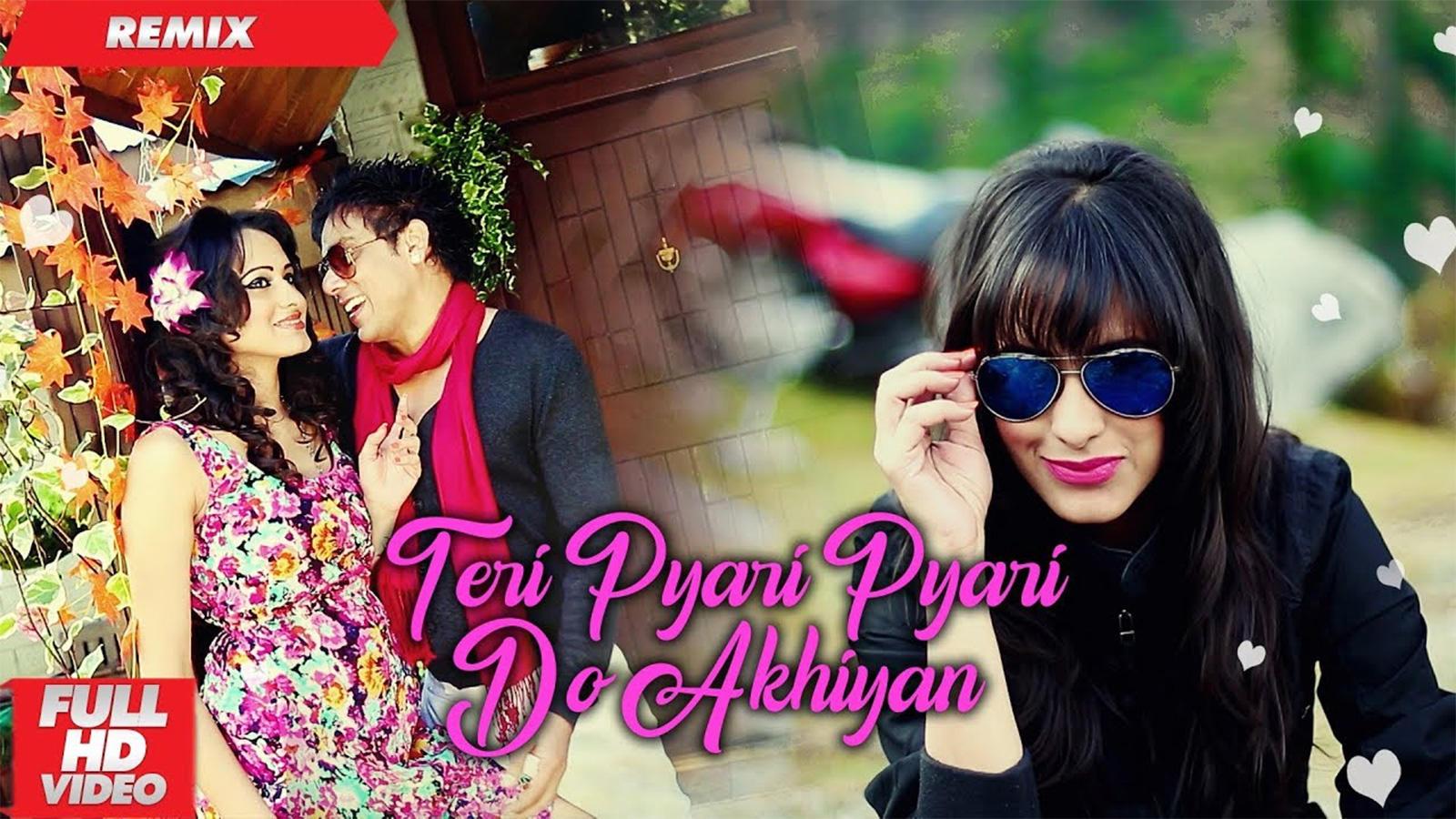 Latest Punjabi Song Teri Pyari Pyari Do Akhiyan Sung By Bhinda Aujla And Bobby Layal Remix Punjabi Video Songs Times Of India