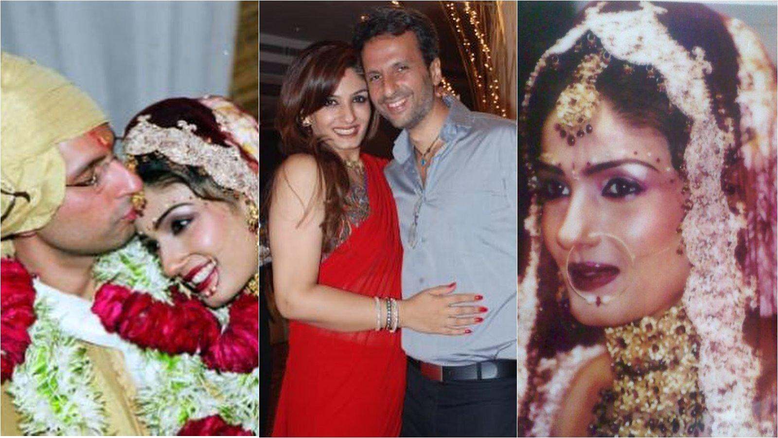Raveena Tandon shares unseen wedding photos, pens lovely message for hubby Anil Thadani on 15th anniversary | Hindi Movie News - Bollywood - Times of India