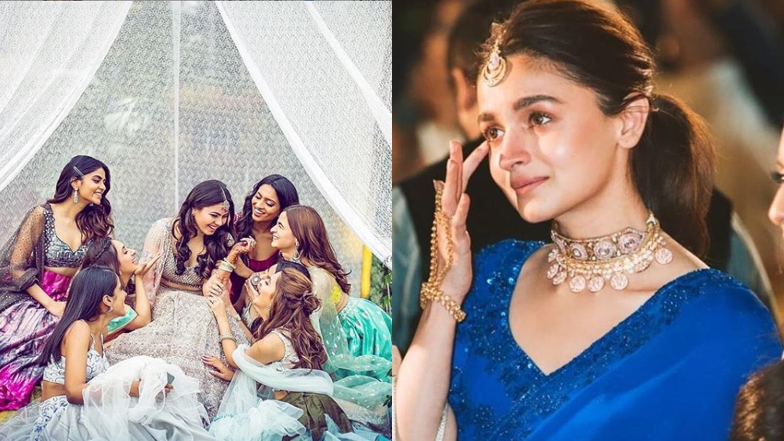 Alia Bhatt gets emotional at best friend's wedding