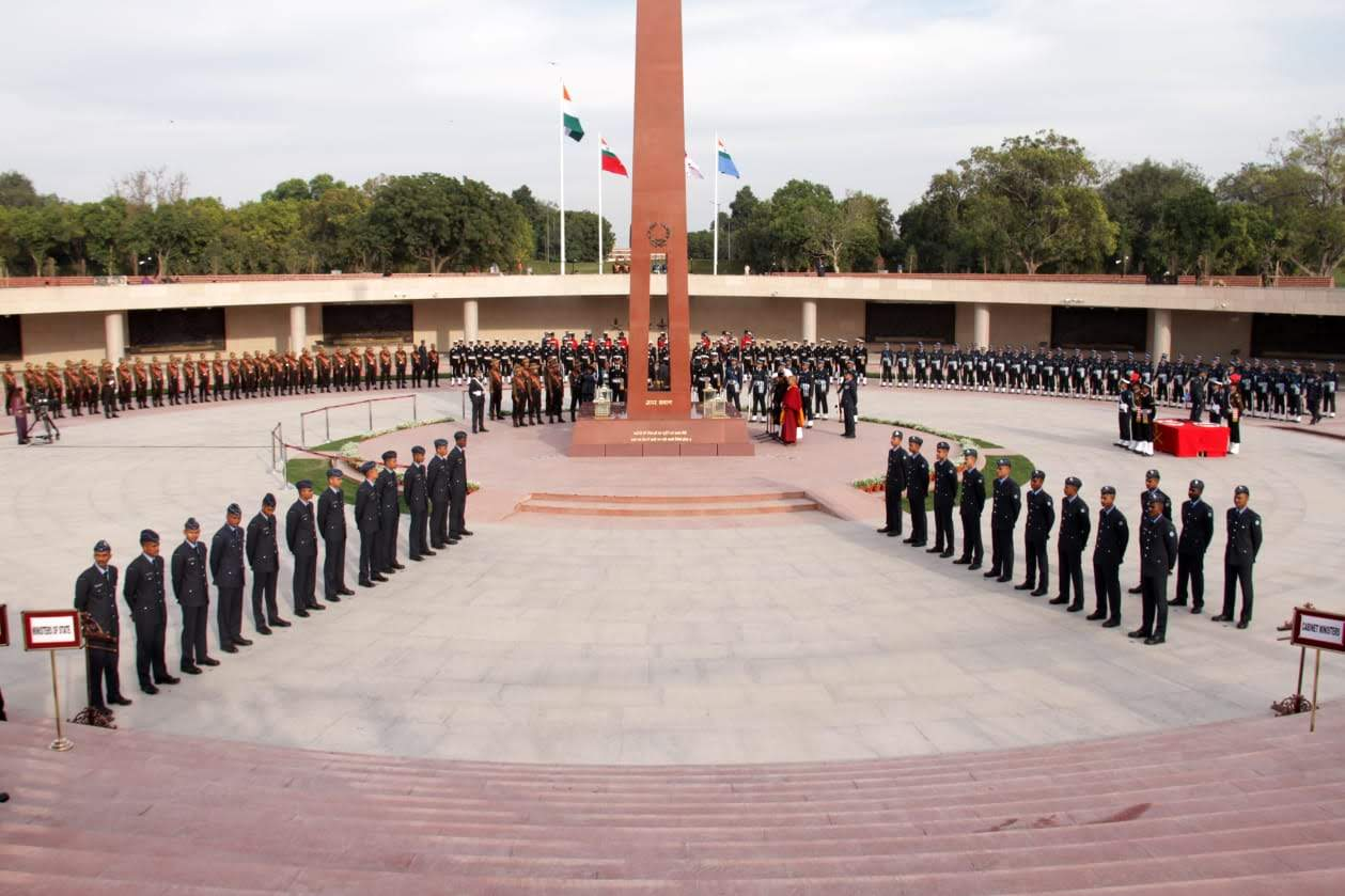 National War Memorial in Delhi is now open for all