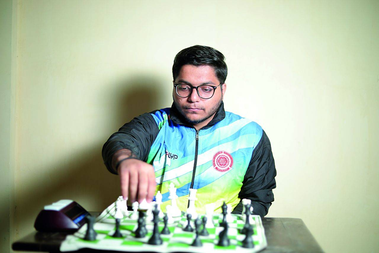 Meet this chess champion from DA-IICT - Times of India