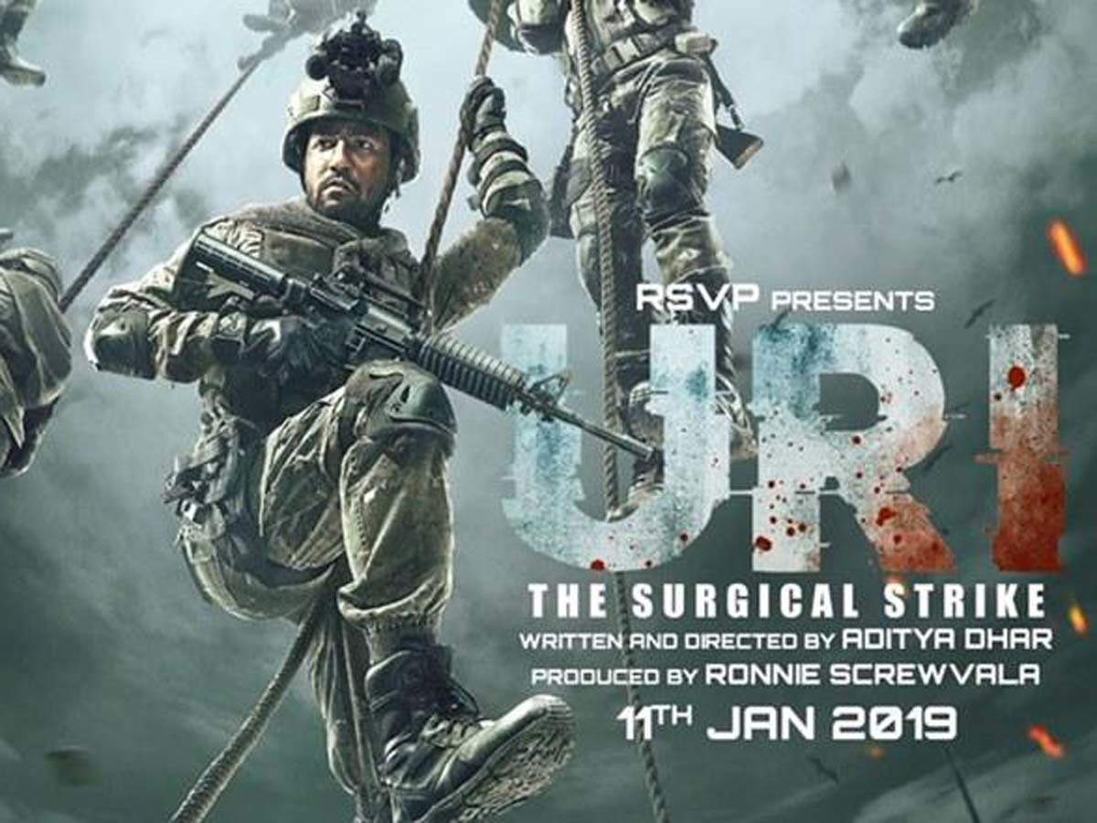 Download For Uri The Surgical Strike Shoots Up After Iaf S Attack On Pok Film S Team Salute The Act Hindi Movie News Times Of India